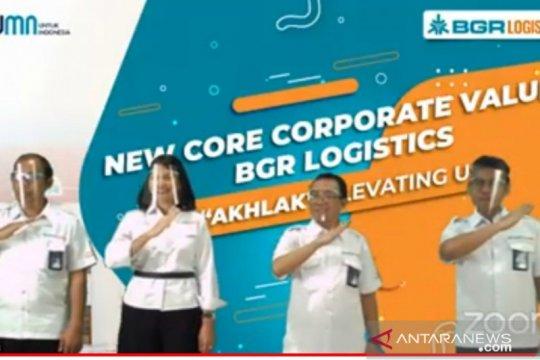 BGR Logistics resmikan AKHLAK sebagai nilai inti perusahaan