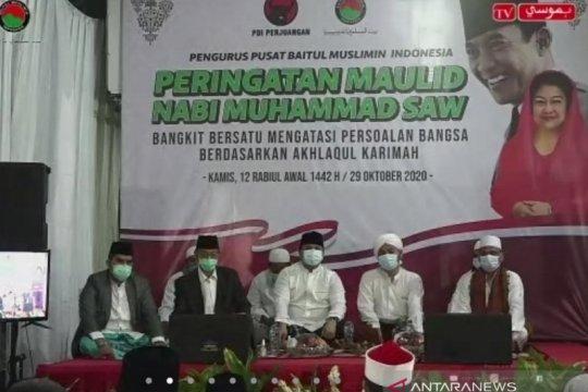 Peringati Maulid Nabi, Baitul Muslimin ingatkan pentingnya persatuan