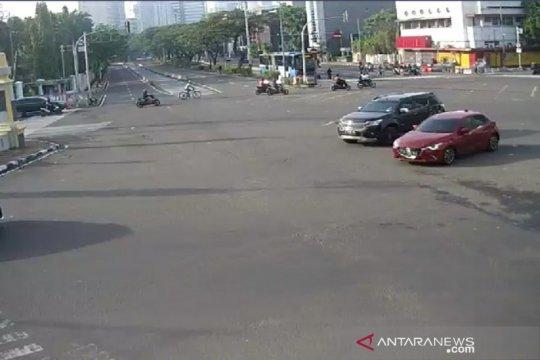 Libur Maulid Nabi, arus lalu lintas di Jakarta nampak lengang