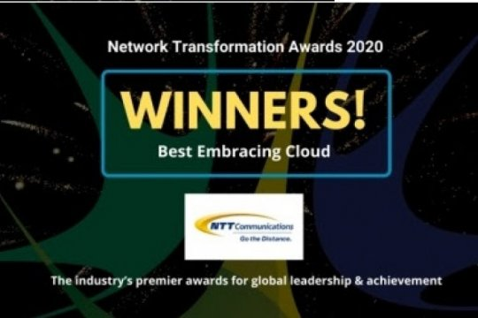 NTT Com terima penghargaan di Network Transformation Awards