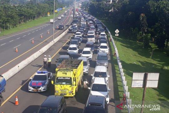 Jalur Puncak Bogor ditutup jika volume kendaraan terus meningkat