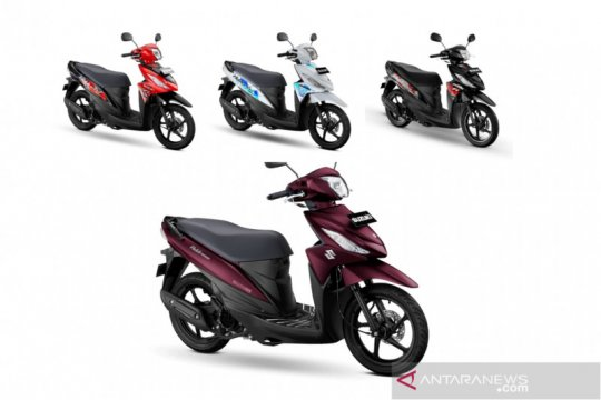 Suzuki Address berdandan dengan warna dan corak baru