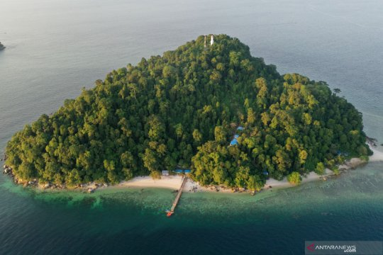 Pulau terluar Indonesia di Selat Malaka