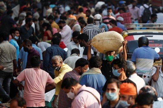 Infeksi corona di India mencapai 8,4 juta