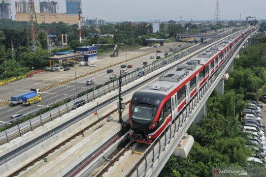 Perubahan rute LRT di DKI Jakarta belum final