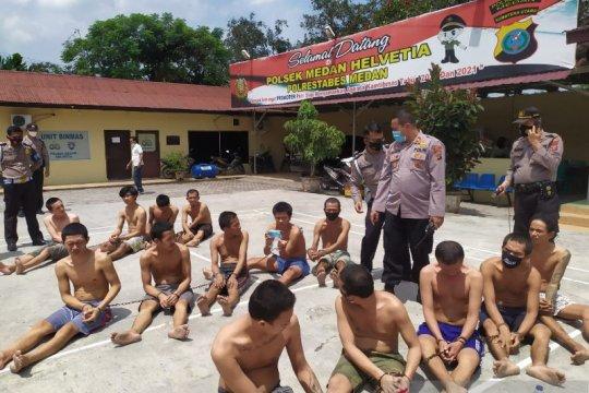 Tahanan di Medan dijemur cegah penyebaran COVID-19