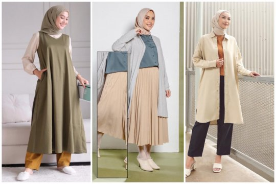 """Hijami"", tren padu padan hijab minimalis"