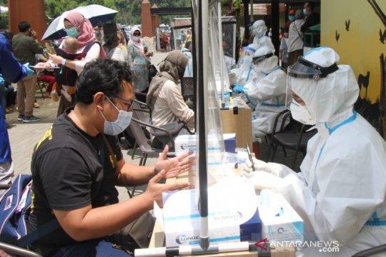 Di tempat wisata Lembang-Bandung Barat, wisatawan ditemukan reaktif