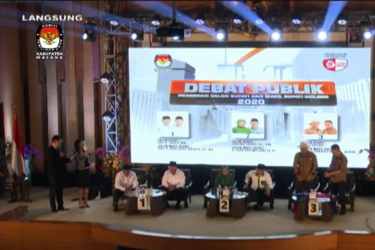 KPU gelar debat publik calon Bupati dan Wakil Bupati Malang