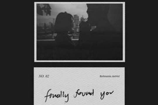 "Rahmania Astrini tulis lagu ""Finally Found You"" untuk orang spesial"