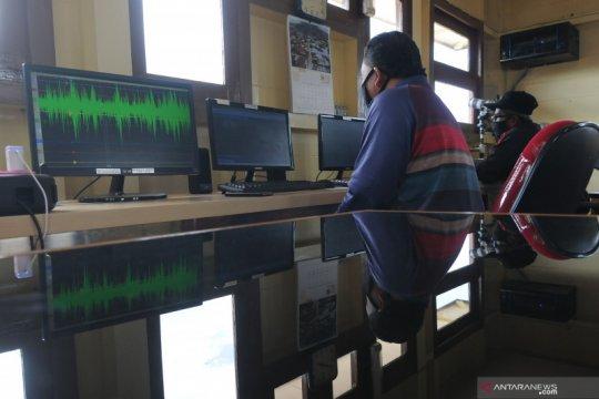Pengamatan aktivitas Gunung Merapi