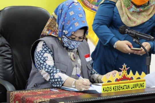 Angka kesembuhan pasien COVID-19 di  Lampung capai 66,19 persen