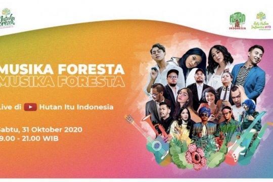 Cinta hutan #DiRuangMaya disuarakan musisi Indonesia via konser