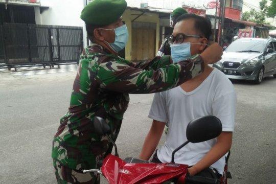 Disiplinkan warga, Zidam Bukit Barisan gelar operasi prokes