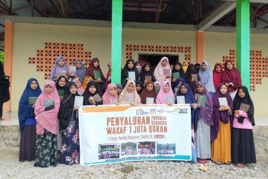 Pesantren di Maluku Tengah dapat bantuan Al Quran dari ACT