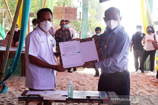 KKP gandeng BPD Bali salurkan upah padat karya terumbu karang