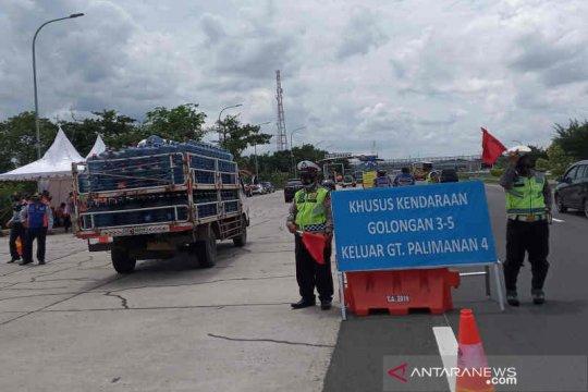 Kendaraan berat dialihkan ke jalur arteri Cirebon selama arus balik