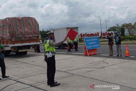 Polisi: Puncak arus balik libur panjang di Cirebon terjadi pada Minggu