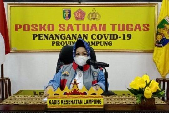Kasus COVID-19 di Lampung bertambah 31 dan 2 meninggal