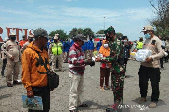 FPRB Bantul kampanyekan gerakan pemakaian masker di objek wisata