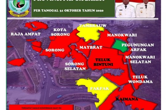 107 pasien COVID-19 di Papua Barat sembuh