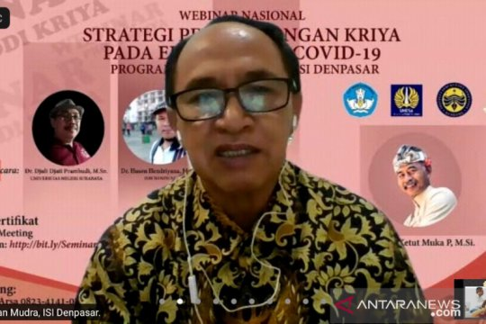 ISI Denpasar diskusikan pengembangan kriya di era pandemi COVID-19