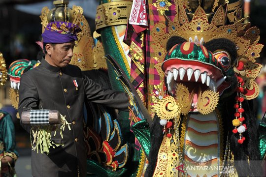 Presiden dukung budayawan dan seniman tetap berkreasi saat pandemi
