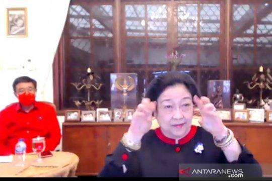 Megawati tanggapi santai pro kontra soal milenial jangan dimanja