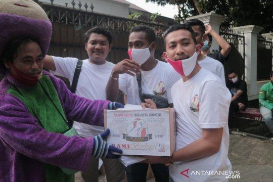 Aktivis mahasiswa Indonesia bantu pemulung saat pandemi COVID-19