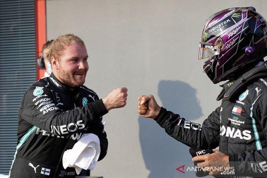 Bottas rebut pole position dari Hamilton ketika F1 kembali ke Imola