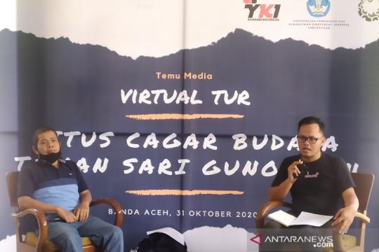 Kemendikbud fasilitasi virtual tur situs cagar budaya Gunongan Aceh