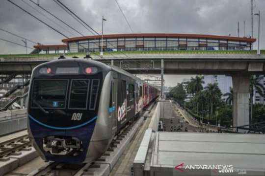 MRT pulihkan penurunan tegangan imbas pemadaman listrik di Jakarta
