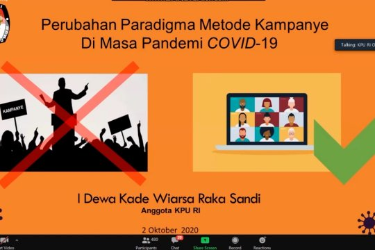 Begini aturan KPU terkait Kampanye melalui media daring dan medsos