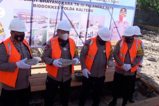 Polda Kalteng bangun gedung baru RS Bhayangkara untuk tingkatkan Yankes