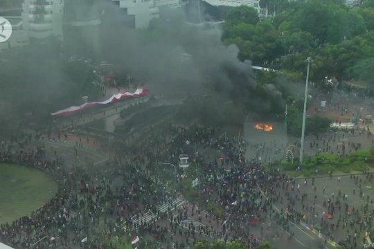 Polri: 145 dari 3.862 demonstran yang ditangkap reaktif COVID-19