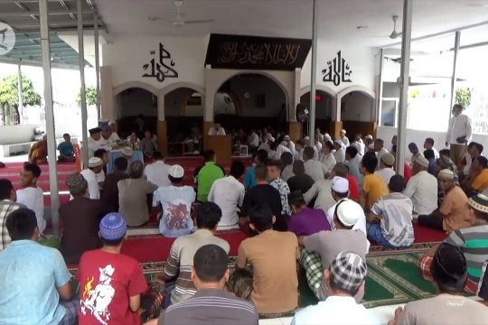 Santri warga binaan lapas Muaro Padang ikuti lomba tahfidz Qur