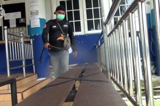 Universitas Palangka Raya kembali disemprot disinfektan
