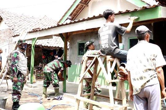 Membangun desa di TMMD Kabupaten Indramayu