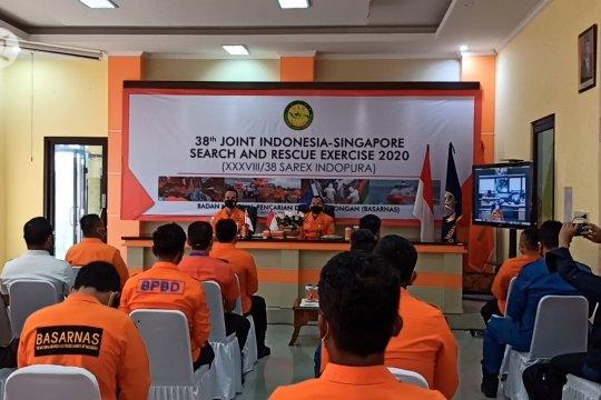 Basarnas-SAR Singapura latihan bersama penanganan kecelakaan pelayaran