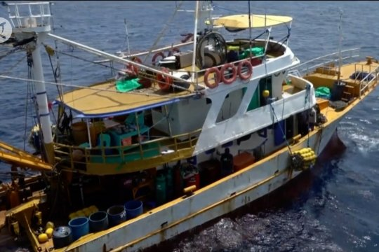 KKP tangkap 2 kapal Filipina pencuri ikan di Samudera Pasifik