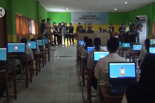 Pemkot Ambon gelar tes SKB CPNS dengan protokol kesehatan ketat