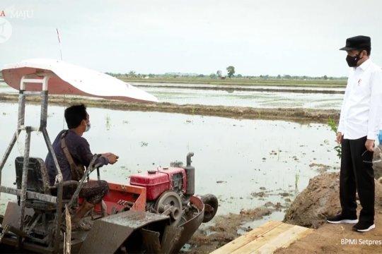 Presiden apresiasi penggunaan teknologi untuk pertanian