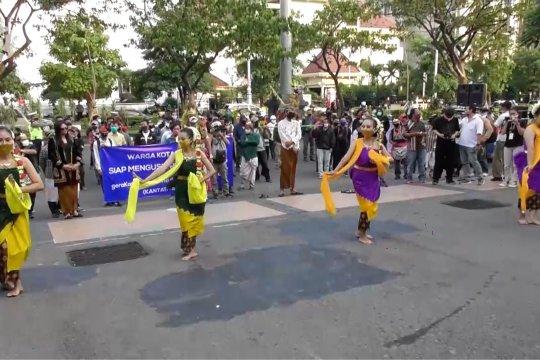 Warga Semarang tolak demo anarkis