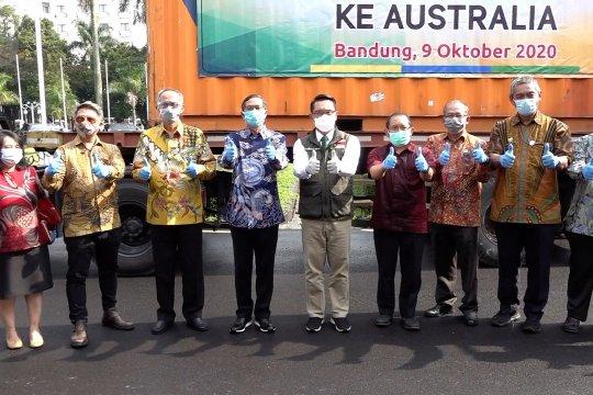 Gubernur Jabar lepas ekspor 16 ton kopi ke Australia