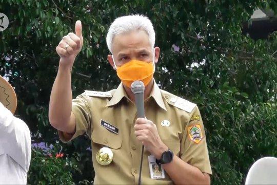 Gubernur Jateng buka posko aduan UU Cipta Kerja