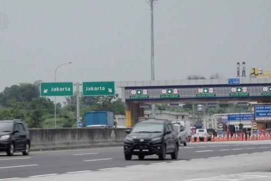 Jelang libur panjang, volume Tol Jakarta-Cikampek meningkat