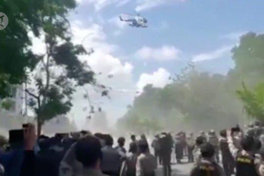 Bubarkan demo pakai helikopter, 4 polisi sidang disiplin pekan depan