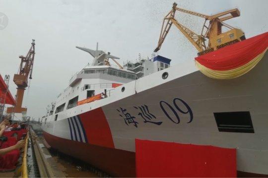 China luncurkan kapal patroli terbesar