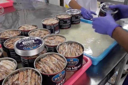 Daging rajungan jadi primadona ekspor komoditas perikanan Jateng