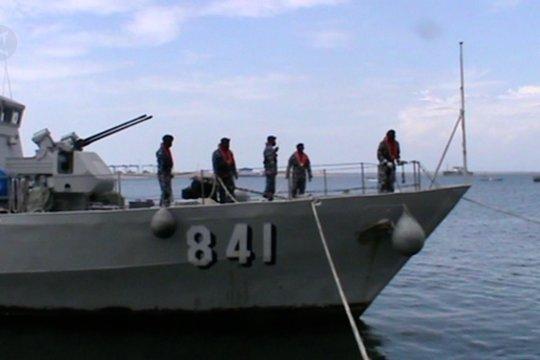 KRI Badau-841 perkuat patroli pengamanan Lantamal VI Makassar